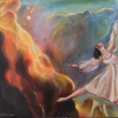Dancer in Nebula 3 - 2018