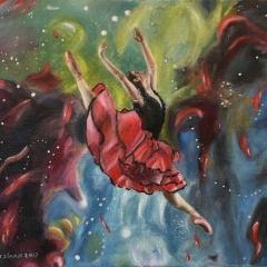 Dancer in nebula 2 - 2017