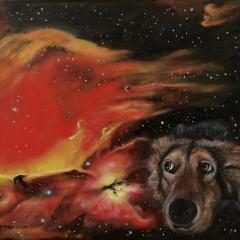 Nebula with Observer